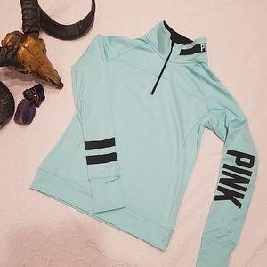 PINK Victoria Secret Zip Warm Cozy Top
